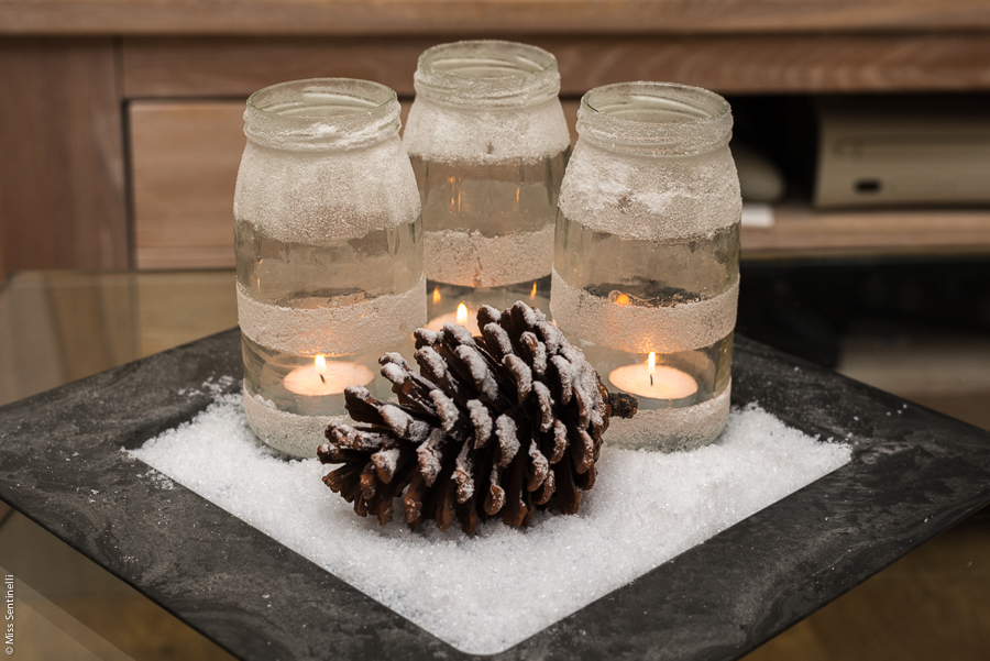 Winter diy kaarslichthouders - Decoratie industriele huis ...